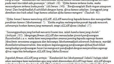 Amanat Jihad Muhammadiyah
