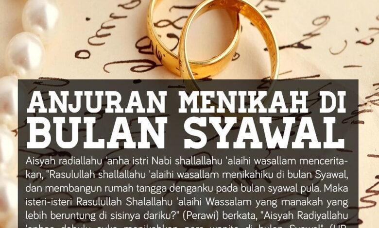 memilih waktu menikah di hari raya idul fitri