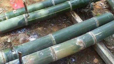 mercon bumbung bambu