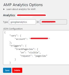 ID Pelacakan Google Analytics di AMP
