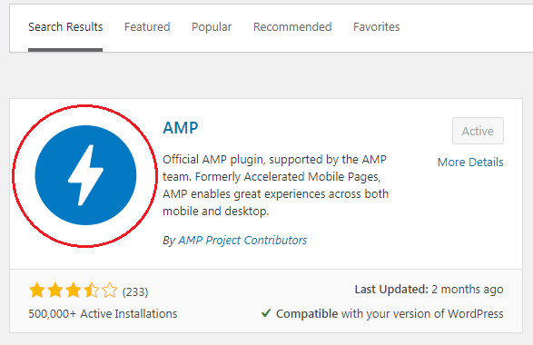 Official AMP plugin