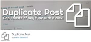 Plugin Yoast Duplicate Post