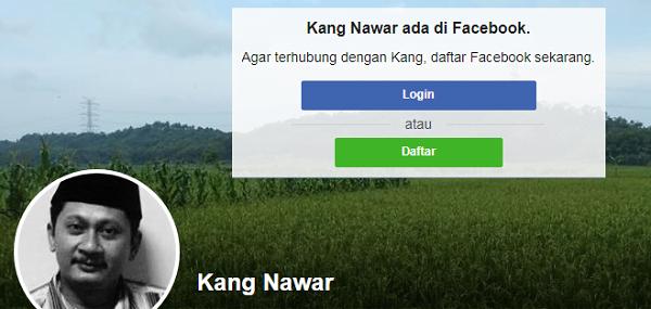 Akun FB Kang Mu Nawar