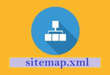 Menghapus Sitemap.xml