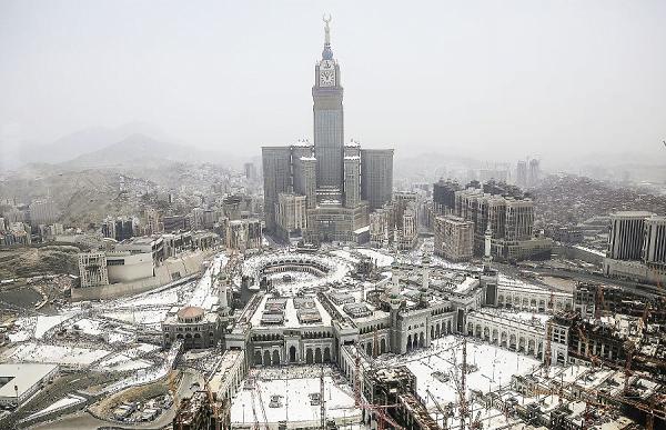 Masjidil Haram Pusat Perjalanan Ibadah Fisik Haji