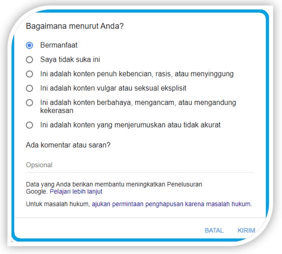 Cuplikan Pilihan Google